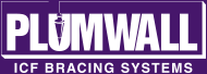 Plumwall ICF Bracing Systems